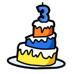 3rd Anniversary Cake Pin.PNG