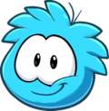 Puffle 2014 Transformation Player Card Blue.png