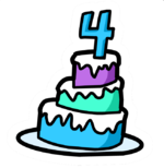4th Anniversary Cake Pin.PNG