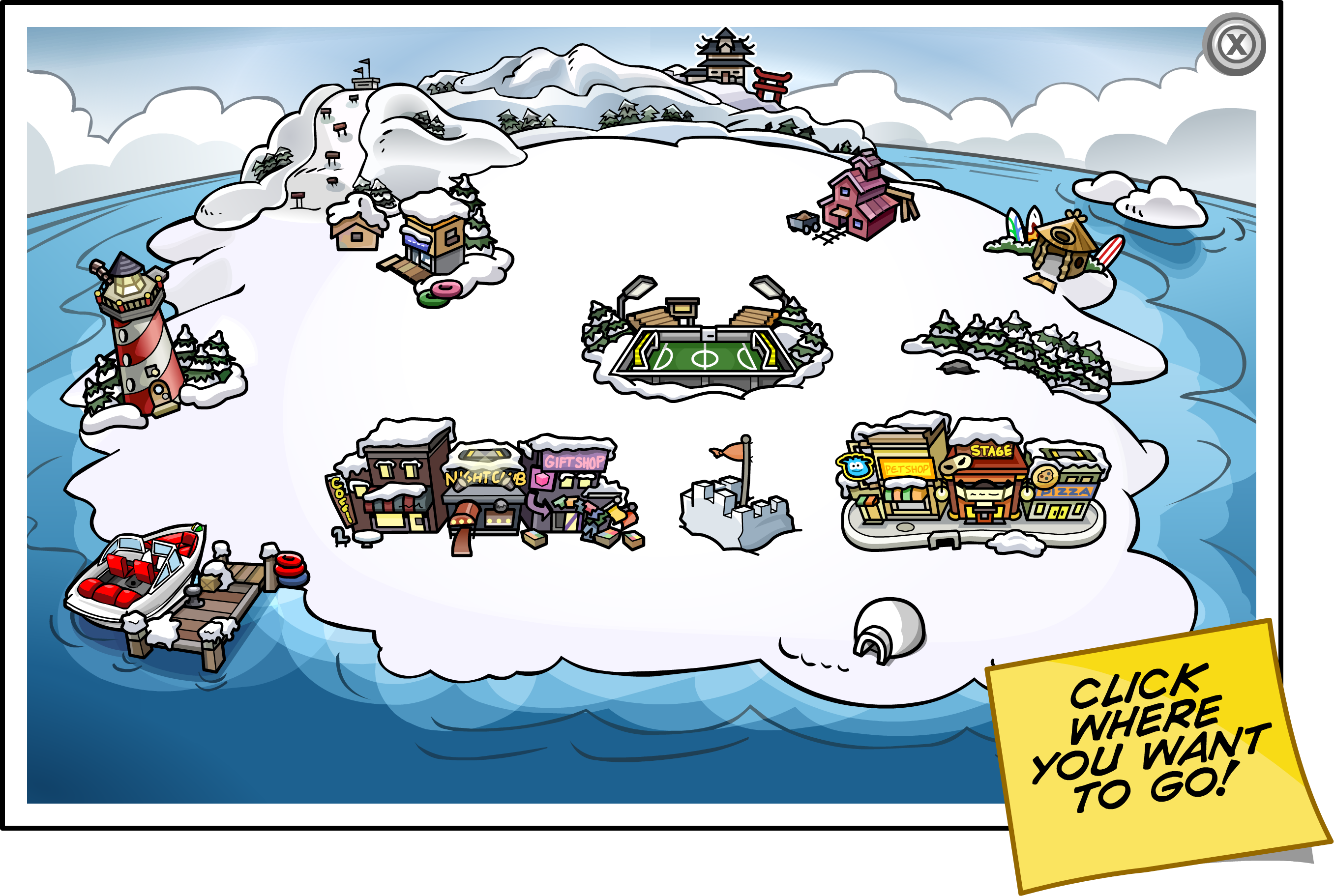 Club Penguin Map User:Chill57181/CPWSA/Mission3/Map   Club Penguin Wiki   the free